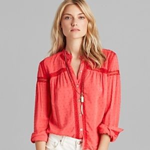 NEW Free People everyday every girl top buttoned